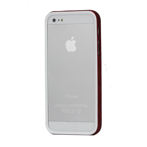 Бампер iPhone 5 APLOVE, красный