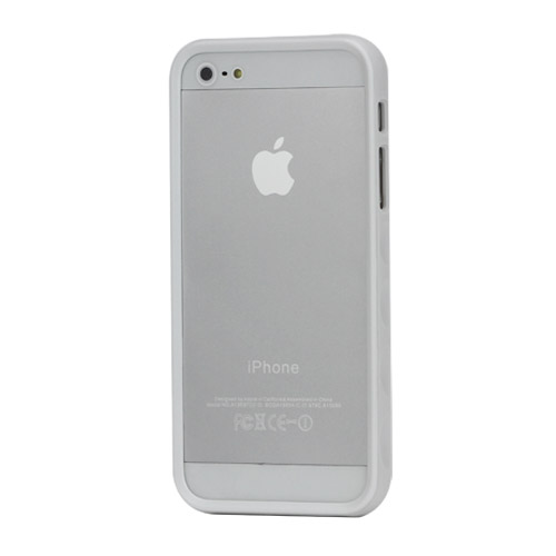 Бампер iPhone 5 APLOVE, белый