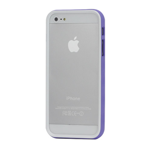 Бампер iPhone 5 APLOVE, фиолетовый